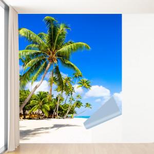 Fototapet 3D Palmieri la Ocean PMO95