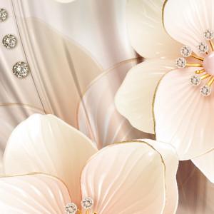 Fototapet 3D Royal Flower Design, Krystal BES39
