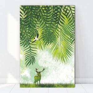 Tablou Canvas Natura Verde BES83