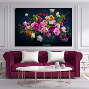 Tablou Canvas Vaza cu Flori CFB34