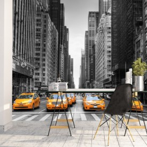 Fototapet Taxiuri in New York UNYC14