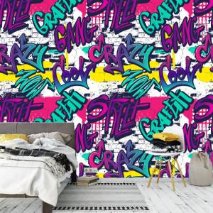 Fototapet Graffiti Fun Wall PVS8