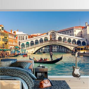 Fototapet Podul Rialto Venetia Italia IVE33
