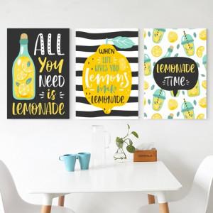 Tablou Canvas Limonada BES281