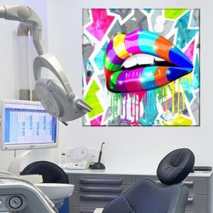 Tablou Decor Stomatologie Pop Art CSD9