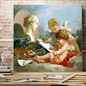 Tablou Francois Boucher - Cupidoni RFB1