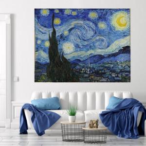 Tablou Van Gogh Noapte Instelata