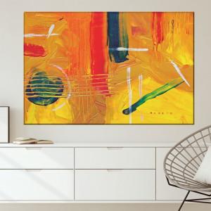 Tablou Canvas Abstract Bucurie de Culori CTB52