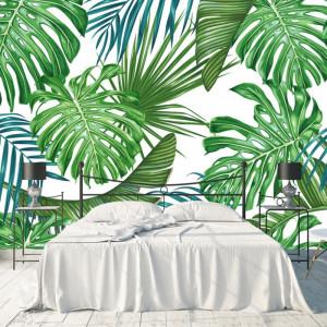 Fototapet Pattern cu Frunze De Palmier FRZ21