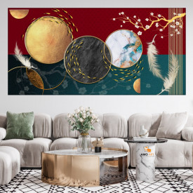Tablou Canvas Abstract Modern Living CTB78