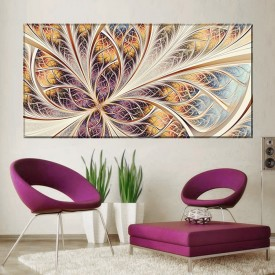 Tablou Canvas Fractal Abstract SFR32
