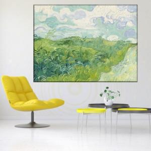 Tablou Van Gogh - Lan Verde de Grau VG62
