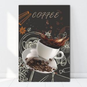 Tablou Canvas Ceasca de Cafea BES111