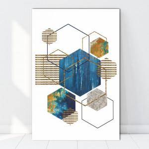 Tablou Canvas Forme Armonioase CTB56