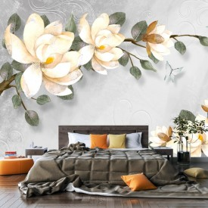 Fototapet 3D Magnolia Grandiflora PFT47