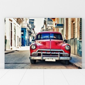 Tablou Canvas Masina Vintage in Cuba ADC19