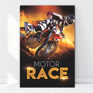 Tablou Canvas Motor Race BES66