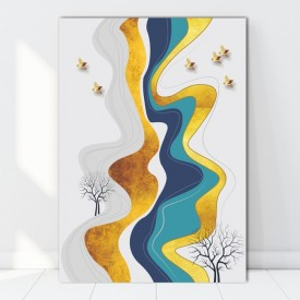 Tablou Canvas Natura Abstracta BES741