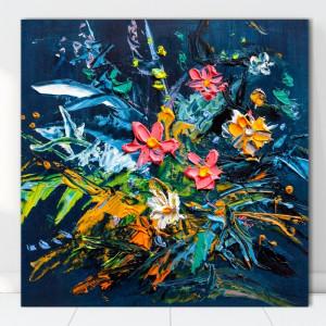 Tablou dupa Picturi, Explozie de Flori TFP17