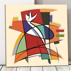Tablou Canvas Forme Abstracte CTB18