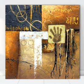Tablou Canvas Abstract Hand CTB29