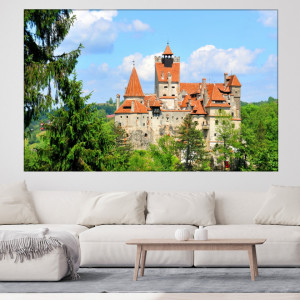 Tablou Canvas Castelul Bran ROM31