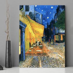 Tablou Van Gogh Terasa Cafenelei Noaptea
