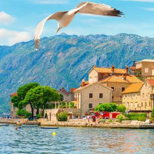 Tablou Vedere Panoramica Kotor Vara, Muntenegru PADR2