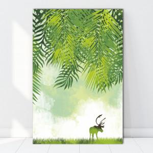 Tablou Canvas Natura Verde BES81