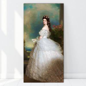 Tablou Portretul Elisabetei, împărăteasa Austriei de Franz Xaver Winterhalter RFXW1