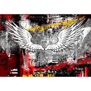 Fototapet Artistic Grunge Wings BES26