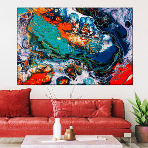 Tablou Canvas Abstract Colors ATF52