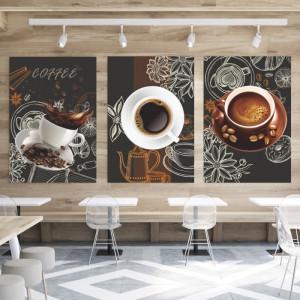 Tablou Canvas Ceasca Alba de Cafea BES112