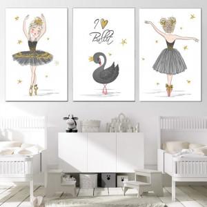 Tablou Canvas Lebada, Regina Baletului LOL25B
