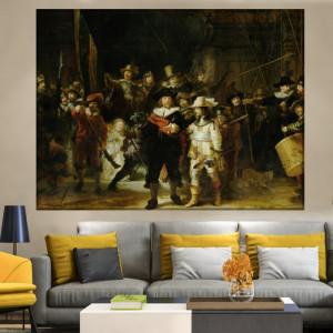 Tablou Rembrandt, Rondul de Noapte, RBC4