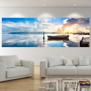 Tablou Panoramic Barca in Larg BFS19B