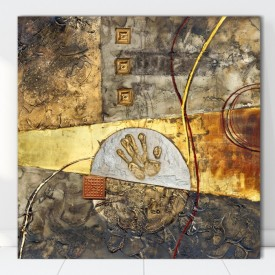 Tablou Canvas Abstract Hand CTB28
