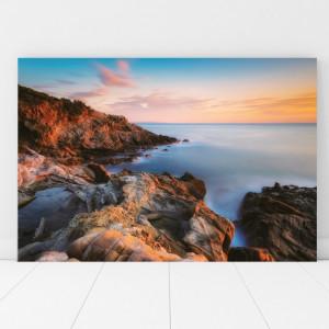 Tablou Canvas Apus de Soare pe Coasta TOPSN16