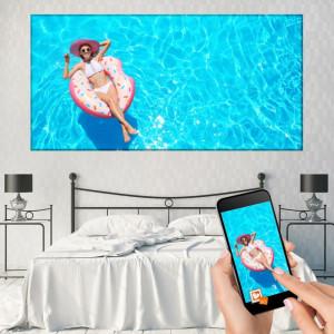 Tablou Canvas Personalizat 100x200cm