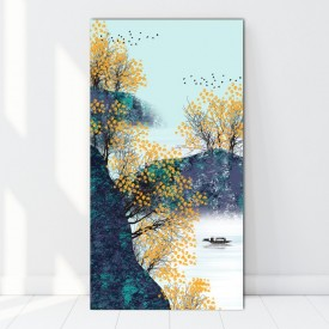 Tablou Canvas Stil Chinezesc Peisaj Creativ BES211