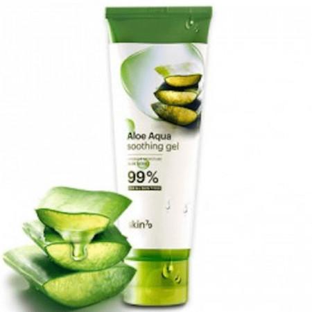 Gel corp/ față/ păr 92% Aloe Vera Aqua Soothing Gel SKIN79, 100 ml.