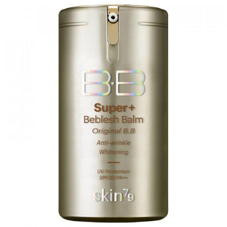 BB Cream VIP GOLD Super Plus SKIN79 ten mixt/ deshidratat/ normal/ uscat, acoperire medie construibila, 40gr