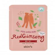 Mască anatomică facială pe suport bumbac Ginseng Roșu Corean Red Ginseng Repairing Mask Sheet SKIN79 - fermitate și regenerare