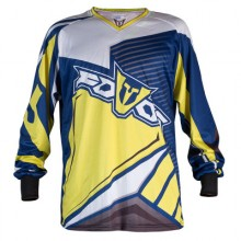 FOVOS - TRICOU MX ATLAS - BLUE/YELLOW