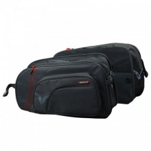 NORDCAP - GENTI LATERALE CARGO II - BLACK/RED