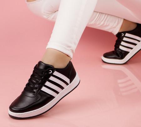 Pantofi sport negri cod:4nt