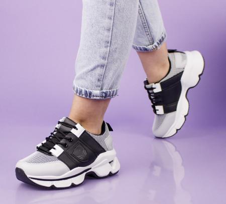 Pantofi sport negri cod:6803