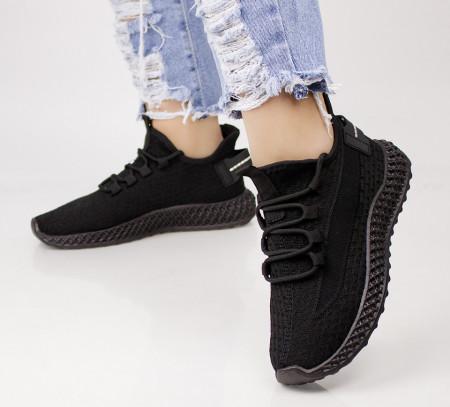 Pantofi dama negri COD:XJH-45