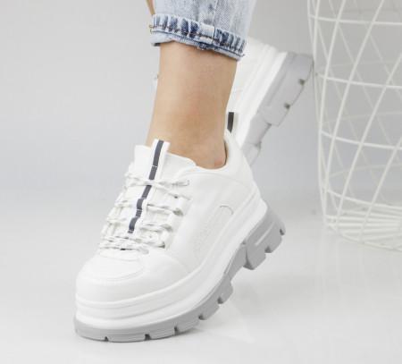 Pantofi sport albi cod:Y595