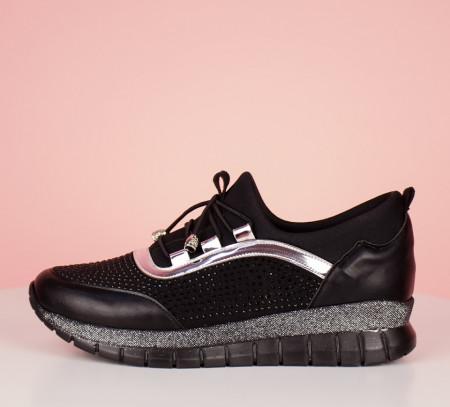 Pantofi sport negri cod:LV22